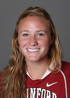STANFORD, CA - OCTOBER 29:  Ashley Aruffo of the Stanford Cardinal women's lacrosse team poses for a headshot on October 29, 2009 in Stanford, California.