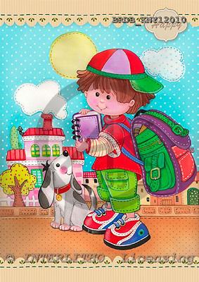 Daniela, CHILDREN, paintings, BRDBKNY12010,#k# Kinder, niños, illustrations, pinturas ,everyday