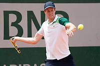 Paris, France, 1 june 2021, Tennis, French Open, Roland Garros, Second  round  match: Botic van de Zandschulp (NED) <br /> Photo: tennisimages.com