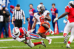 Illinois Fighting Illini running back Josh Ferguson (6) in action during the Heart of Dallas Bowl Bowl game between the Illinois Fighting Illini and the Louisiana Tech Bulldogs at the Cotton Bowl Stadium in Dallas, Texas. Louisiana defeats Illinois 35 to 18.