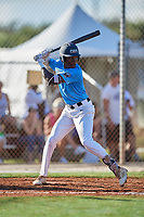 Ed Howard during the WWBA World Championship at the Roger Dean Complex on October 19, 2018 in Jupiter, Florida.  Ed Howard is a shortstop from Lynwood, Illinois who attends Mount Carmel High School and is committed to Oklahoma.  (Mike Janes/Four Seam Images)