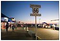 Californie-Route 66<br /> Los Angeles<br /> Santa Monica