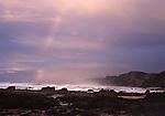 Europa, PRT, Portugal, Algarve, Suedwestkueste, Felsenkueste, Regenbogen.