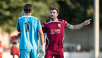during the 2018/19 Pre Season Friendly match between Chesham United and Wycombe Wanderers at the Meadow , Chesham, England on 24 July 2018. Photo by Andy Rowland.