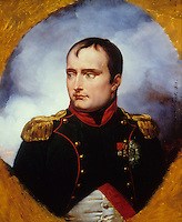 Emile Jean Horace Vernet:  Portrait of Napoleon. National Gallery-London. Reference only.