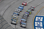 NASCAR Camping World Truck Series<br /> Fred's 250<br /> Talladega Superspeedway<br /> Talladega, AL USA<br /> Saturday 14 October 2017<br /> Parker Kligerman, Food Country USA / Lopez Wealth Management/Tide Pods Toyota Tundra and Christopher Bell, Toyota Toyota Tundra<br /> World Copyright: Nigel Kinrade<br /> LAT Images