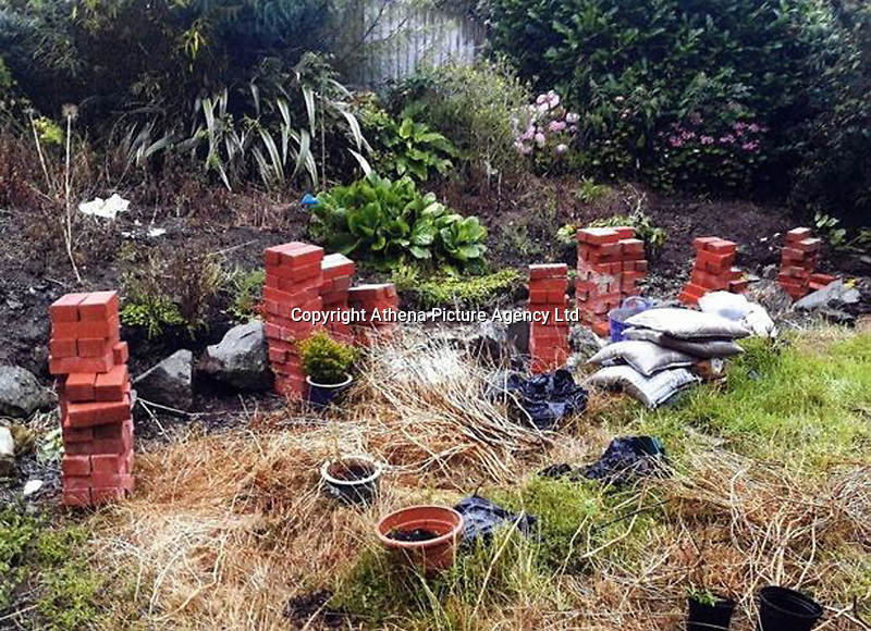 """Pictured: Some of the shoddy work done by Ian Cottle.<br /> Re: A rogue builder, described as having a """"blatant disregard for safety"""" made nearly £30,000 from clients he left with work, well below standard. <br /> Cardiff Crown Court heard it cost his customers thousands of pounds to sort out the shoddy work and mess from ACE Plastering and Building Services Limited run by Ian Cottle.<br /> Judge Neil Bidder QC told the defendant: """"All you wanted was the consumers' cash.""""<br /> The offending occurred between July 2015 and August 2016 and included work of cement-stained windows, peeling paint and falling down walls.<br /> Cottle used advertisements for his business in local papers The Barry Gem and Barry and District News.<br /> The defendant claimed he was City and Guilds qualified, as well as being fully insured – which was not true."""