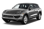 Front three quarter view of a 2014 Porsche Cayenne Hybrid S 5 Door SUV