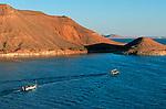 Lac Nasser. Egypte