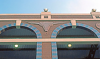 Ballparks: Arlington, TX. The Ballpark. Longhorn Motif over external arches.