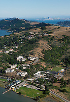 aerial photograph Marin County, California