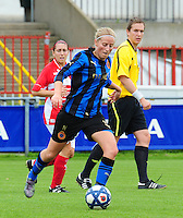 Club Brugge - Standard Femina :  Marijke Callebaut.fotografe Joke Vuylsteke - vrouwenteam.be