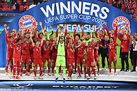 2020 UEFA Supercup Final Bayern Munich versus FC Sevilla Sep 24th