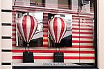 LV Hot Air Balloons 01 - Louis Vuitton shopfront display window, King Street, Perth, Western Australia.