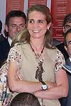 25.05.2012. Prince Felipe of Spain and Princess Letizia attend the inauguration of the Book Fair 2012 at the Retiro in Madrid. In the image Elena de Borbon (Alterphotos/Marta Gonzalez)