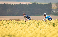 Eddie Dunbar (IRE/INEOS Grenadiers)<br /> <br /> 85th La Flèche Wallonne 2021 (1.UWT)<br /> 1 day race from Charleroi to the Mur de Huy (BEL): 194km<br /> <br /> ©kramon