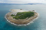 Aerial view of Low Isles out of Port Douglas
