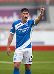 Hamilton Accies v St Johnstone…01.04.17     SPFL    New Douglas Park<br />Clive Smith on debut<br />Picture by Graeme Hart.<br />Copyright Perthshire Picture Agency<br />Tel: 01738 623350  Mobile: 07990 594431
