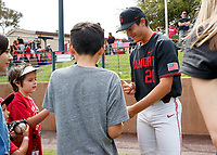 STANFORD, CA - May 20, 2018: Stanford Baseball wins the final home game of the season 4-2 over Washington State at Sunken Diamond.
