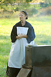 Heritage Days Festival. Union County. Union army wives in period costumes.