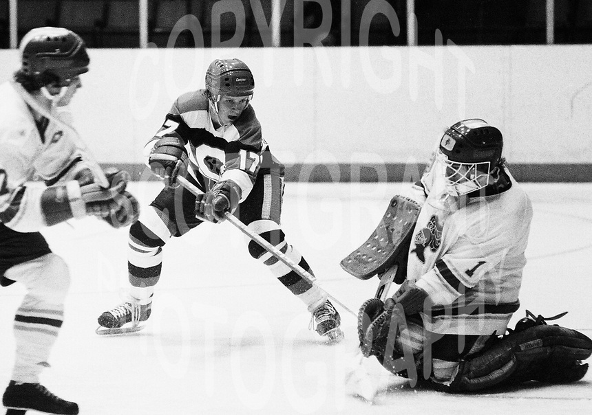Kevin Konings Ottawa 67's 1978. Photo Scott Grant