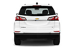 Straight rear view of a 2020 Chevrolet Equinox LT 5 Door SUV stock images