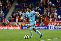 Harrison, NJ - Thursday Sept. 15, 2016: Juan Carlos Portillo during a CONCACAF Champions League match between the New York Red Bulls and Alianza FC at Red Bull Arena.