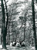 Picknick in Puyo, Korea 1986