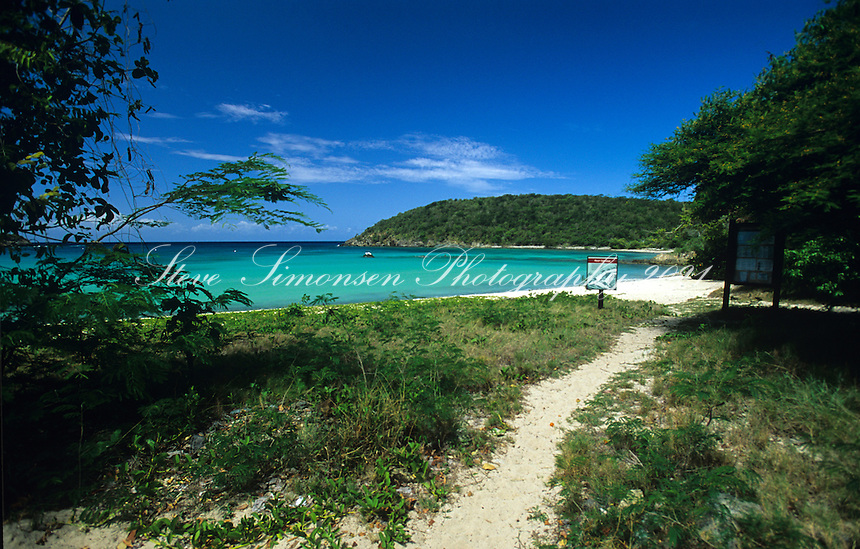 Pathway to Lameshur Bay<br />