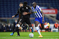 22nd April 2021; Dragao Stadium, Porto, Portugal; Portuguese Championship 2020/2021, FC Porto versus Vitoria de Guimaraes; Moussa Marega of FC Porto goes past Abdul Mumin of Vitoria de Guimaraes to score for 1-0 in minute 49