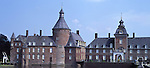 Europe, DEU, Germany, North Rhine Westphalia, Muensterland, Lower Rhine, Anholt, Moated Castle, Wasserschloss Anholt....[ For each utilisation of my images my General Terms and Conditions are mandatory. Usage only against use message and proof. Download of my General Terms and Conditions under http://www.image-box.com or ask for sending. A clearance before usage is necessary...Material is subject to royalties. Each utilisation of my images is subject to a fee in accordance to the present valid MFM-List...Contact | archive@image-box.com | www.image-box.com ]
