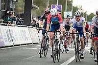 Anthony Turgis (FRA/Total - Direct Energie) finishing 4th<br /> <br /> 104th Ronde van Vlaanderen 2020 (1.UWT)<br /> 1 day race from Antwerpen to Oudenaarde (BEL/243km) <br /> <br /> ©kramon
