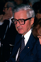1989  File Photo (exact date unknown) -  Paul Desmarais and his wife attend the opening of the Canadian Centre for Architecture' new building.<br /> <br /> Desmarais passed away October 10, 2013. He was 86 years old