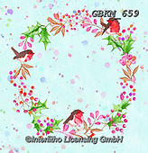 Kate, CHRISTMAS SYMBOLS, WEIHNACHTEN SYMBOLE, NAVIDAD SÍMBOLOS, paintings+++++,GBKM659,#xx# , red robin , wreath