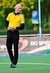 MANNHEIM, DEUTSCHLAND, NOVEMBER 09: 10. Spieltag in der Feldhockey Saison 2013/2014. Begegnung zwischen dem Mannheimer HC (blau) und dem Nürnberger HTC (weiss)  in der 1. Bundesliga Herren am 09. November, 2013 in Mannheim, Deutschland. Endstand 7-1 (4-0). (Photo by Dirk Markgraf/www.265-images.com)<br /> *** Local caption ***
