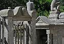"""25/06/15 - MASGOT - CREUSE - FRANCE - A l instar du facteur Cheval, Francois MICHAUD est l un des rares representants de l Art populaire en France. Paysan tailleur de pierre, le faiseur de """"Marmots"""" aura passé sa vie a embellir son village natal - Photo Jerome CHABANNE"""