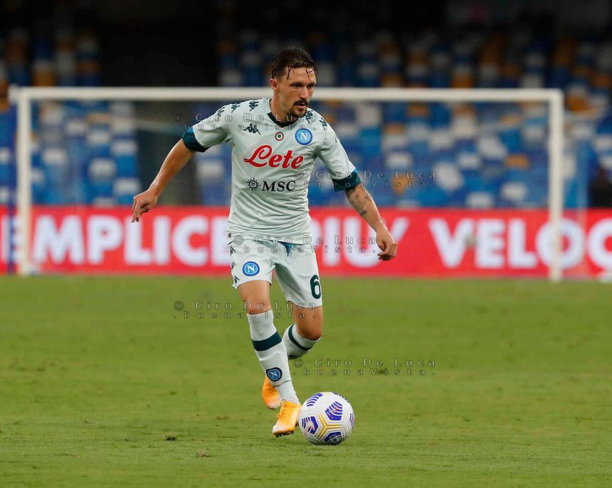 Mario Rui during a friendly match Napoli - Pescara  at Stadio San Paoli in Naples