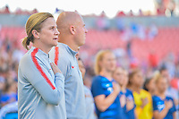 Sandy, Utah - Thursday June 07, 2018: Jill Ellis during an international friendly match between the women's national teams of the United States (USA) and China PR (CHN) at Rio Tinto Stadium.