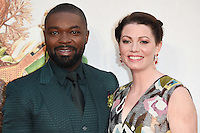 """David and Jessica Oyelowo<br /> at the London Film Festival 2016 premiere of """"Queen of Katwe"""" at the Odeon Leicester Square, London.<br /> <br /> <br /> ©Ash Knotek  D3168  09/10/2016"""
