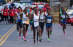 Geoffrey Kamworor and Joyciline Jepkosgei of Kenya won the 2019 New York City Marathon