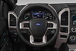 Car pictures of steering wheel view of a 2018 Ford Expedition XLT 5 Door SUV Steering Wheel