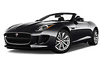 Stock pictures of low aggressive front three quarter view of 2017 Jaguar F-TYPE - 2 Door Convertible Low Aggressive
