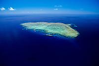 aerial, Norman Reef, Great Barrier Reef, Australia, Pacific Ocean