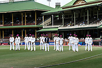 7th January 2021; Sydney Cricket Ground, Sydney, New South Wales, Australia; International Test Cricket, Third Test Day One, Australia versus India; India pose for a team photo before play
