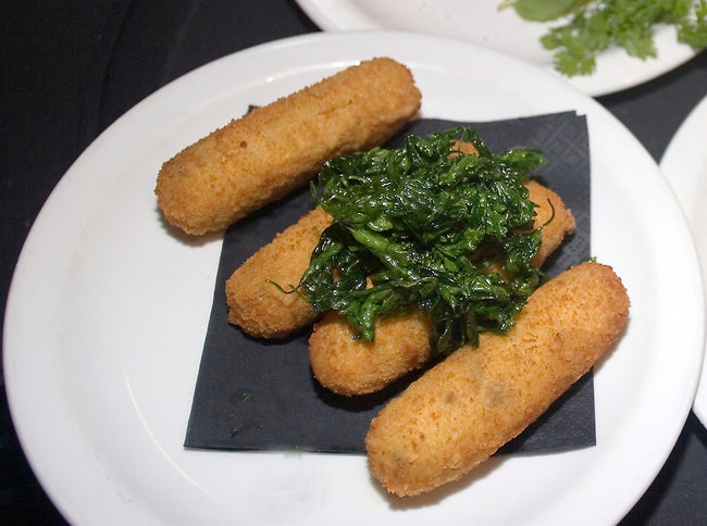 Fish Sticks, Tapas Brindisi Restaurant, London, England