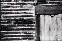 Barn door frame<br />