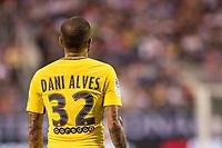 Orlando, FL - Saturday July 22, 2017: Dani Alves during the International Champions Cup (ICC) match between the Tottenham Hotspurs and Paris Saint-Germain F.C. (PSG) at Camping World Stadium.