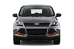 Straight front view of a 2013 Ford Escape S