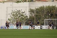 SÃO PAULO, SP, 25.07.2016 - FUTEBOL- CORINTHIANS - Jogadores disputam a bola  durante treino do Corinthians no CT Joaquim Grava na região leste da cidade de São Paulo nesta terça-feira, 25. (Foto: Ale Meirelles/Brazil Photo Press)