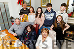 Enjoying New Years Eve in Bella Bia.<br /> Seated l to r: Eamon Hickey, Sinead and Ellen O'Donnell.<br /> Back l to r: Roddy, John, Mary and Molly Clifford, Daniel O'Riordan, Dara and Ellie Clifford.